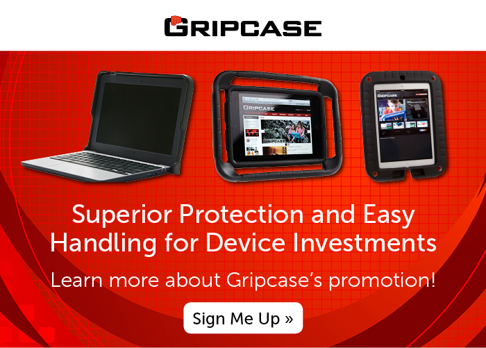 Superior Protection and Easy Handling for Device Investments. Learn more about Gripcase's promotion!