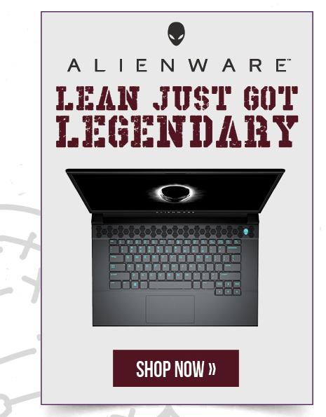 Alienware: Lean Just got Legendary.  Shop now.