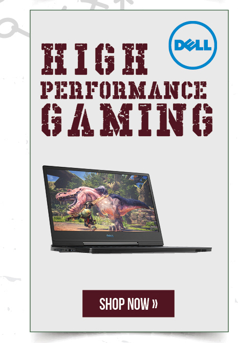 Dell: High performance gaming.  Shop now.