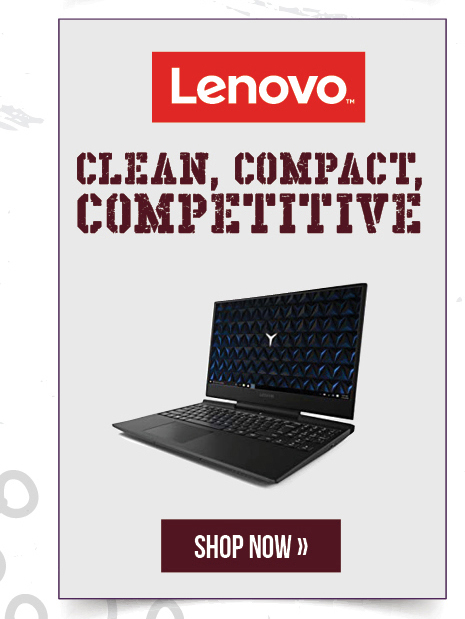 Lenovo: CLean, compact, competitive.  Shop now.