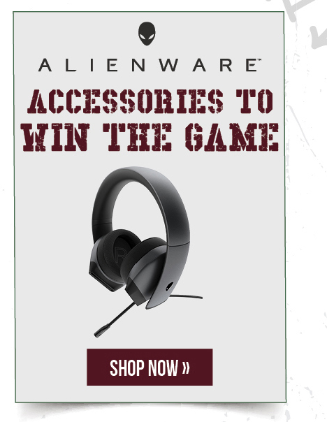 Alienware: Accessories to Win the Game.  Shop now.